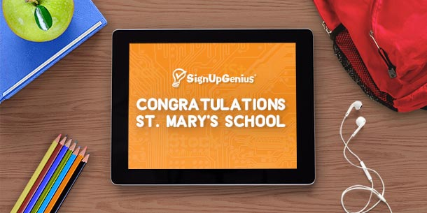 signupgenius back to school contest giveaway technology winners