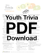 bible bowl trivia quiz questions ideas sunday school youth group teens