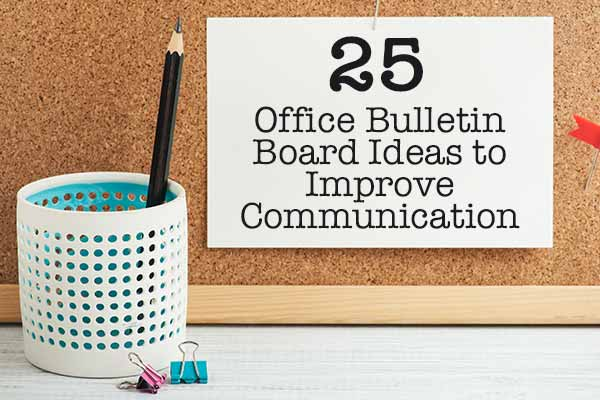 business office bulletin board ideas communication human resources