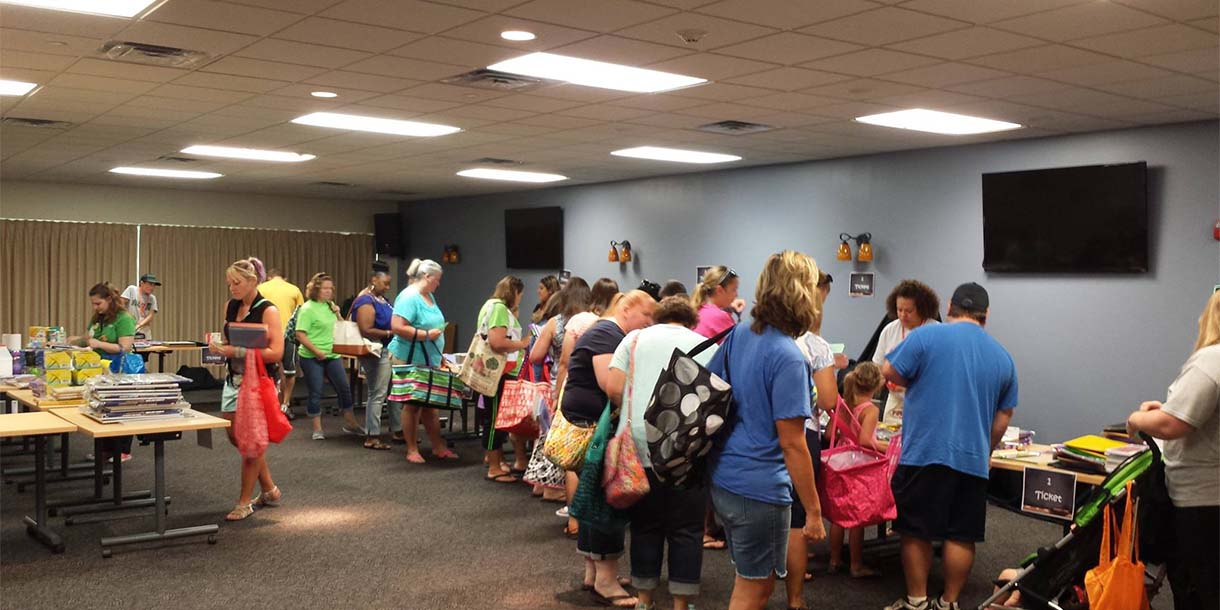 Kansas City Church Shows Heart for Teachers with Supply Drive