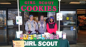 SignUpGenius Powers Girl Scout Cookie Booths